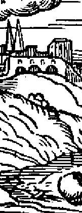 Janvier illustration cordes sur ciel