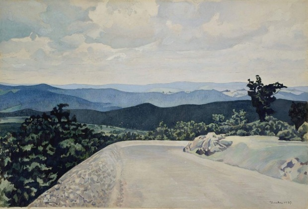 illustration fevrier 3 blue ridge mountains