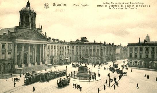 ecritoire place royale bruxelles