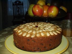 Dundee Cake spécial La Chron, 20 décembre 2013