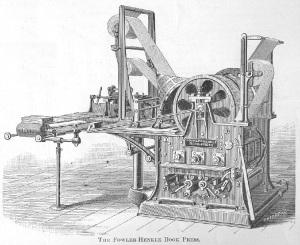 ecritoire printing press