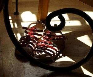 """""""chaussures vides"""", par Florence Noël 2014"""