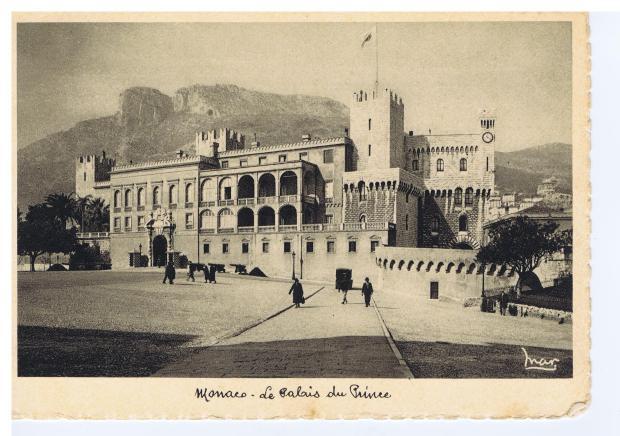 Monaco The Prince's Palace 1937 001